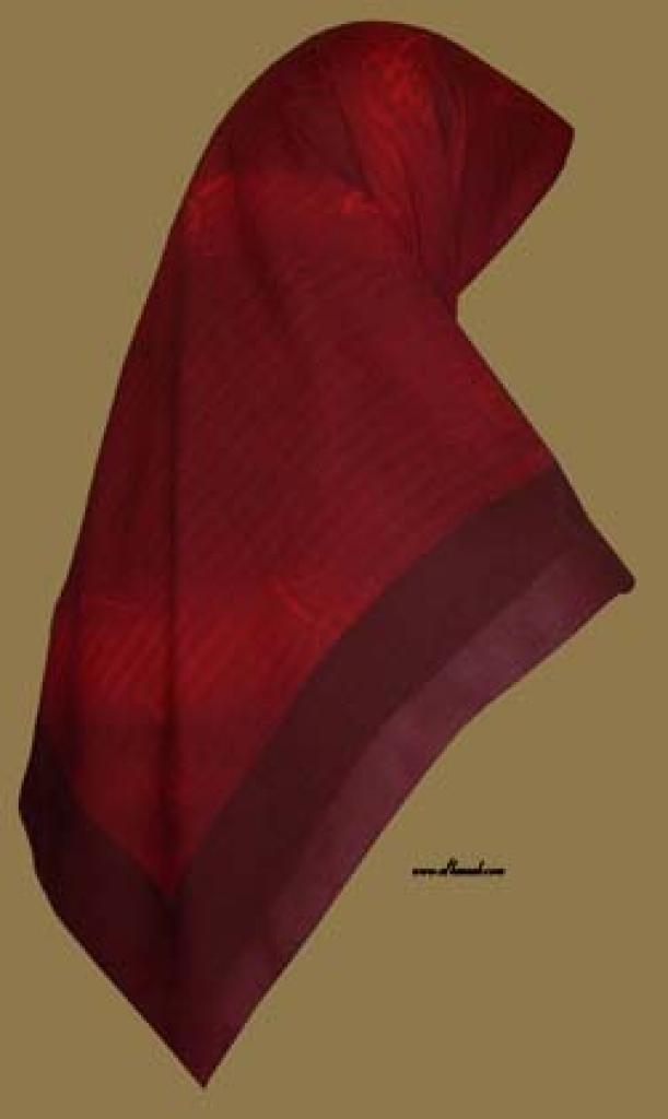 Georgette Chiffon Hijab  hi998