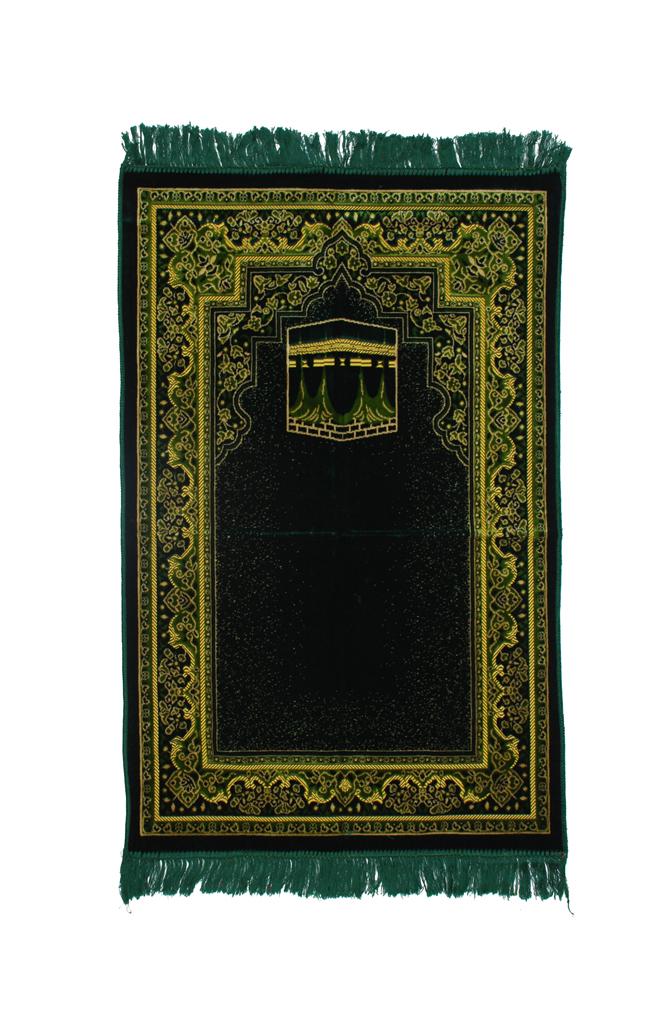 Kaaba Design Turkish Prayer Rug  ii1032