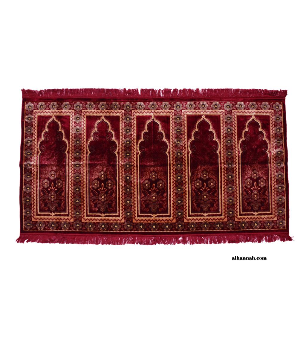 5 Person Woven Turkish Prayer Rug ii1047