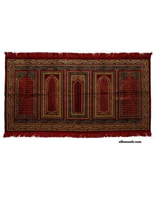 5 Person Woven Turkish Prayer Rug ii1054