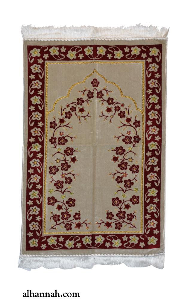 Turkish Prayer Rug with Floral Motiff ii1086