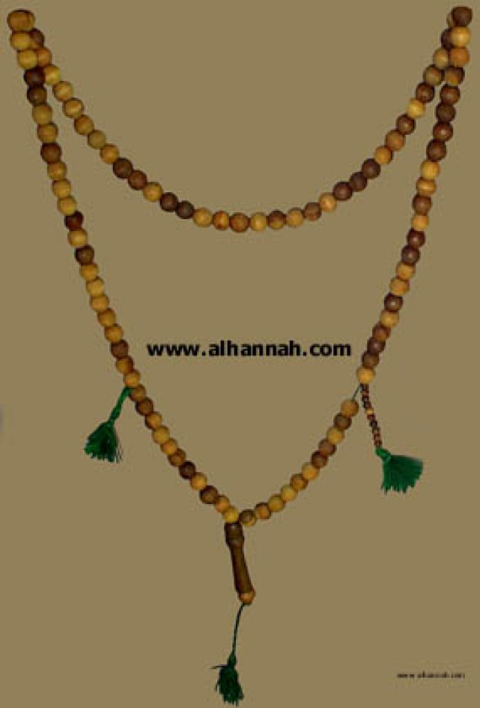 Wooden Dhikr Beads ii425