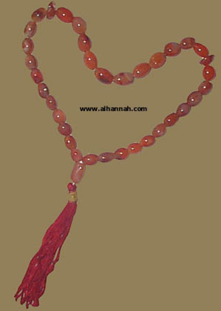 Carnelian Prayer Beads  ii428