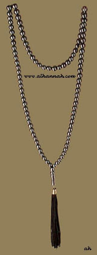 99 Bead Set of Hematite Prayer Beads ii437