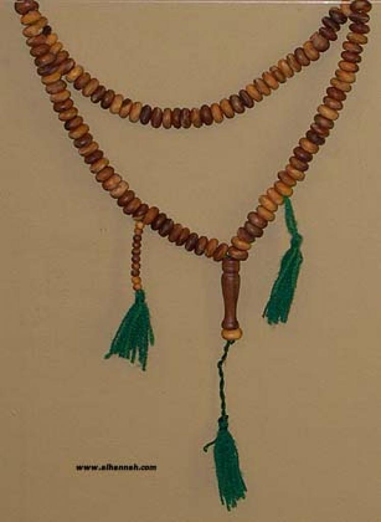 Wooden 99 Dihkr Beads set ii522