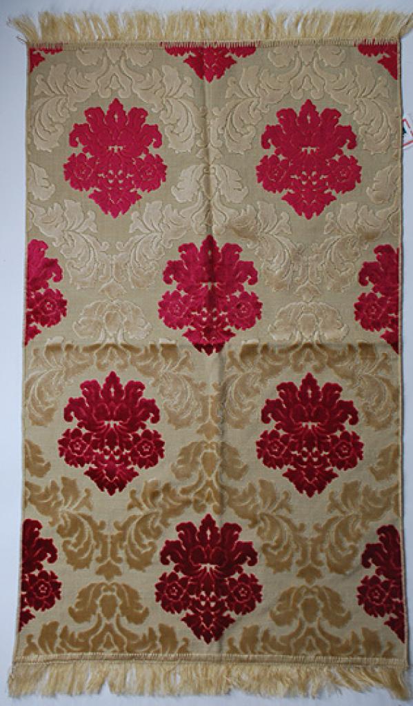 Premium velour woven prayer rug ii636