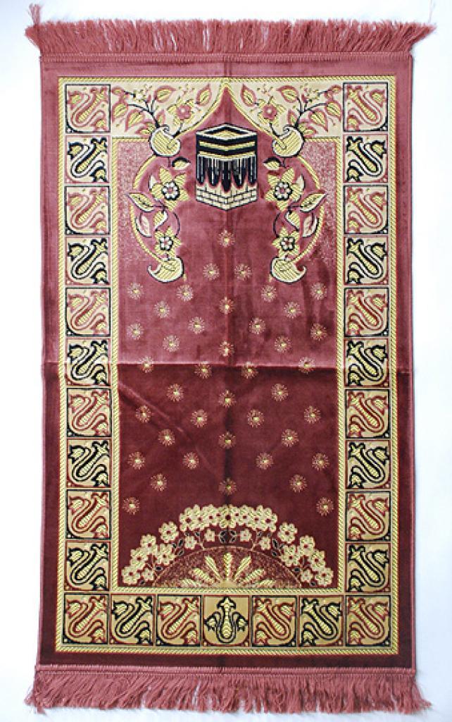Premium velour woven prayer rug ii637