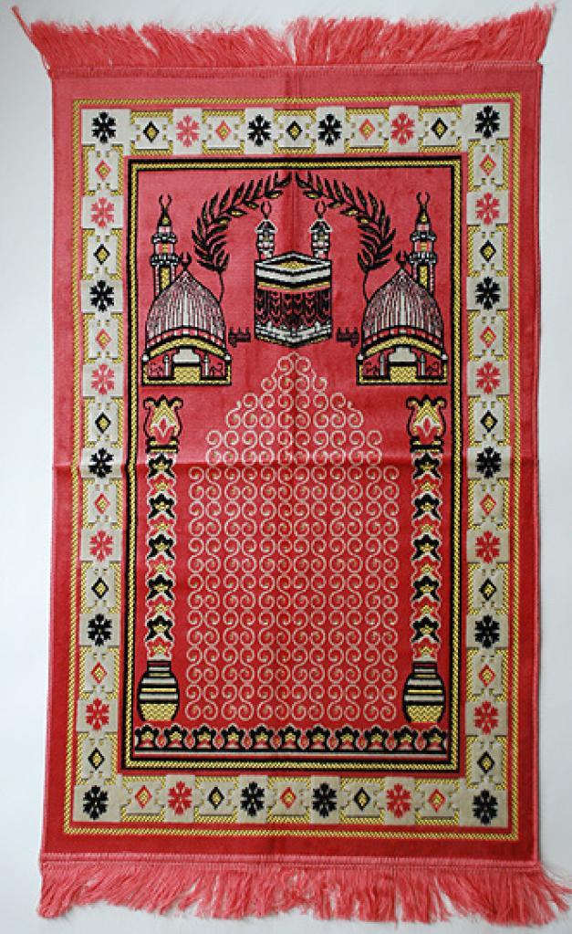 Premium velour woven prayer rug ii638