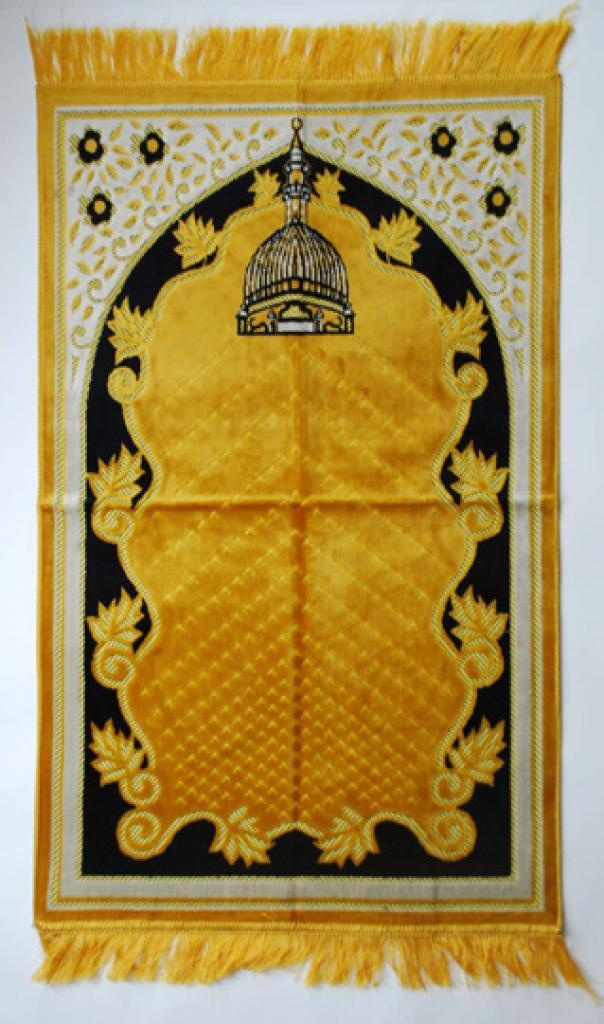 Premium velour woven prayer rug ii639