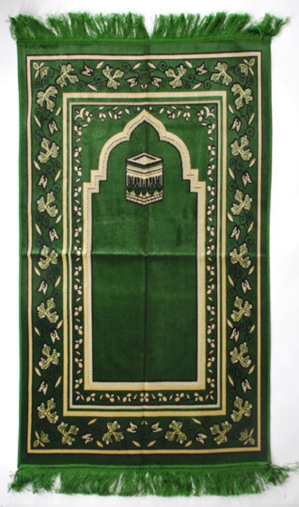 Premium velour woven prayer rug  ii646