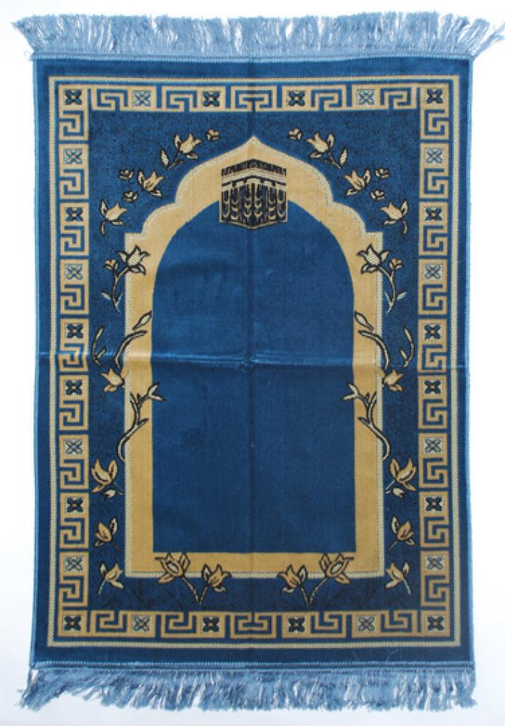 Premium velour woven prayer rug  ii650