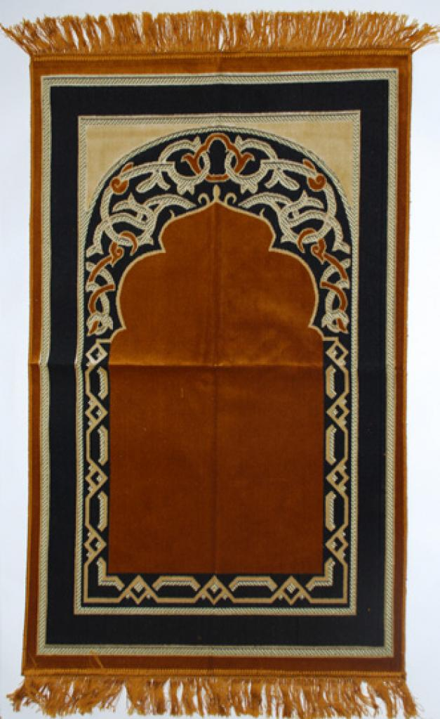Premium velour woven prayer rug  ii652