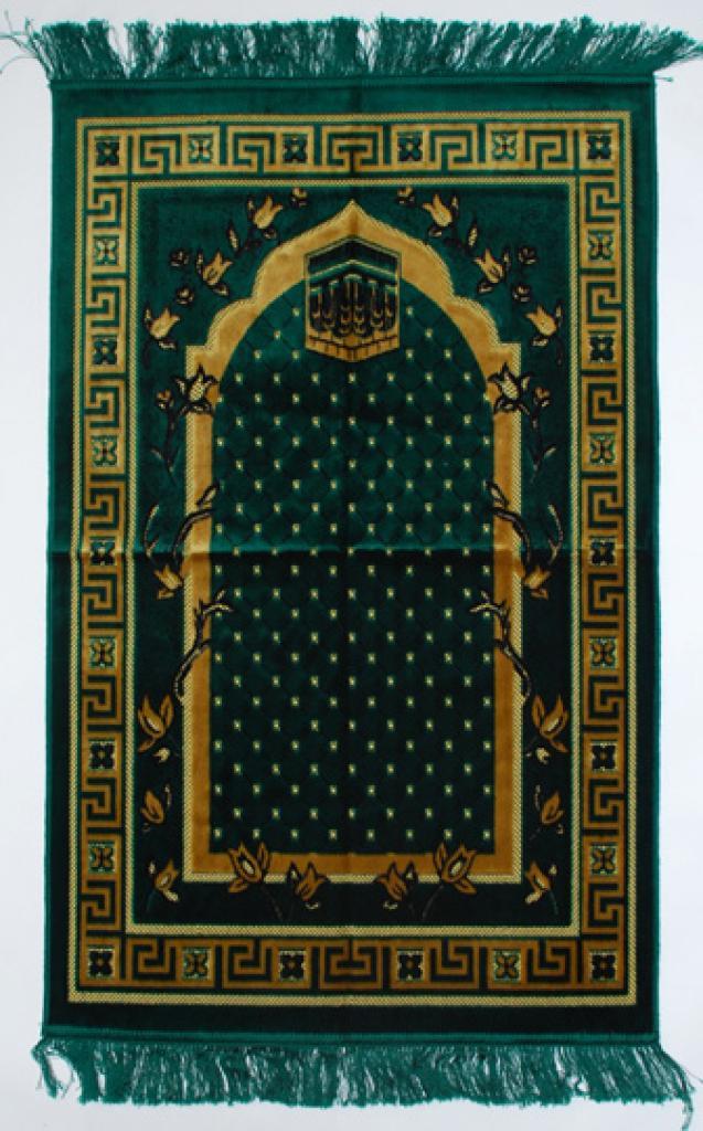 Premium velour woven prayer rug  ii654