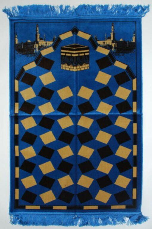 Premium velour woven prayer rug  ii655