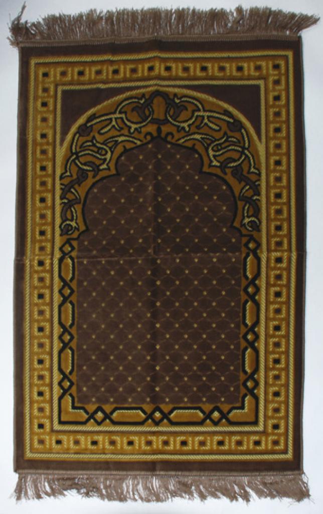 Premium velour woven prayer rug  ii663