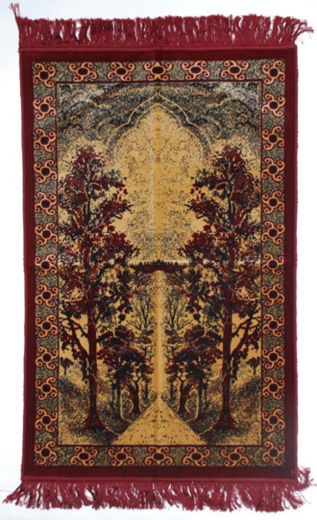 Premium velour woven prayer rug  ii664