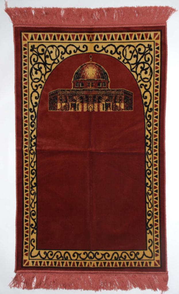 Premium velour woven prayer rug  ii665