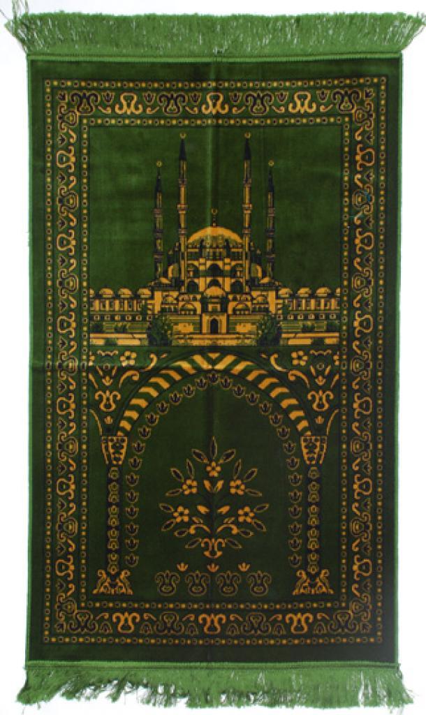Premium velour woven prayer rug  ii670