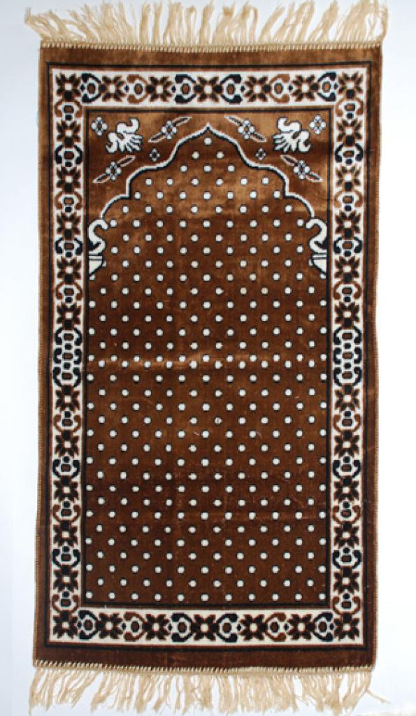 Islamic Prayer Rug Floral Points ii685