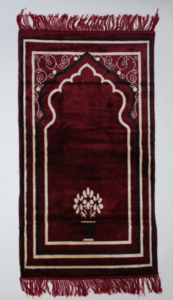 Islamic Prayer Rug Floral Vines ii691