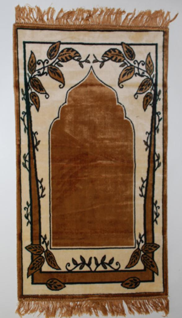 Tree Print Islamic Prayer Rug ii699