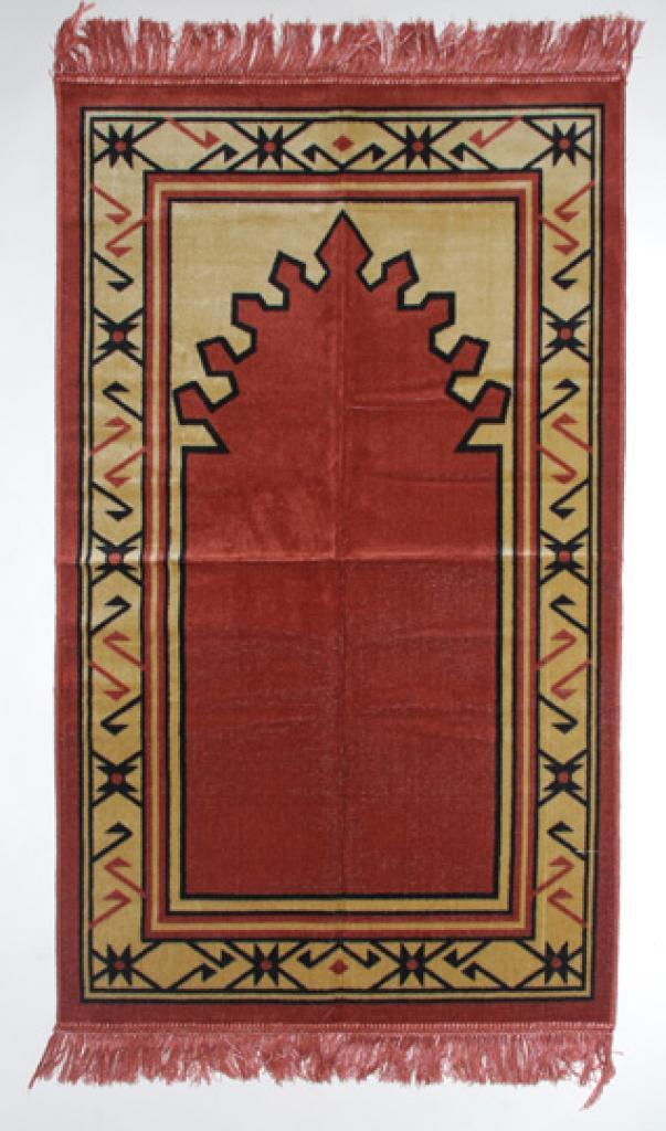 Geometric Angles Islamic Prayer Rug ii705