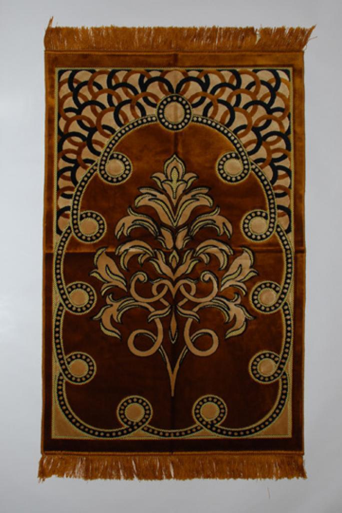 Ringed Pattern Islamic Prayer Rug ii793