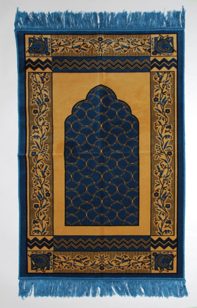 Floral Lace Pattern Islamic Prayer Rug ii797