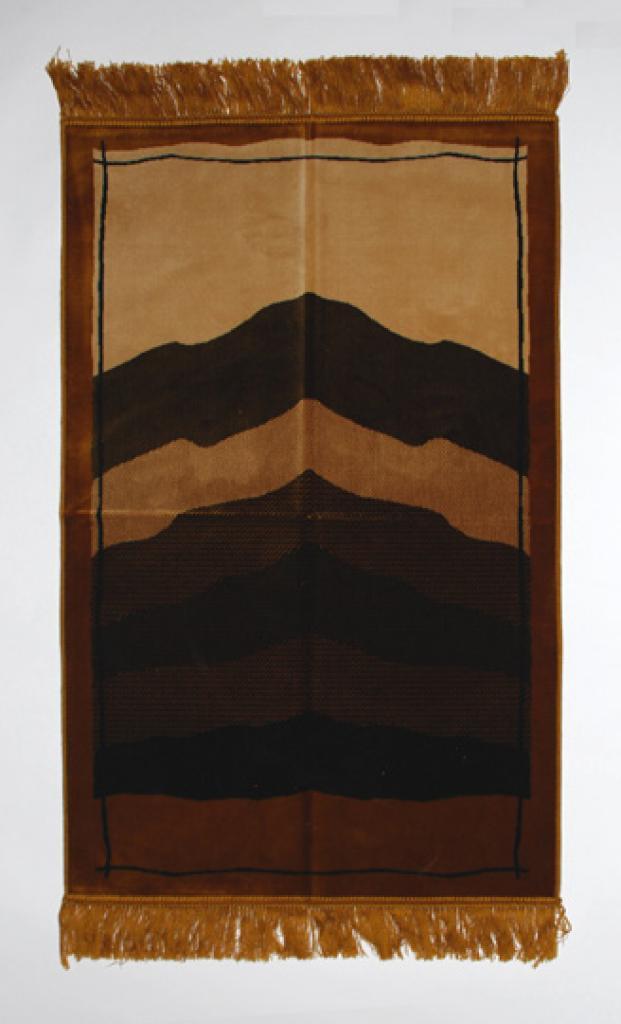 Abstract Tone Pattern Islamic Prayer Rug ii799