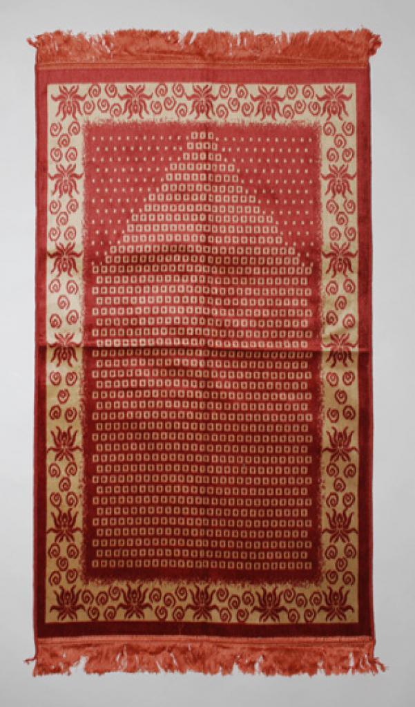 Cubic Pattern Islamic Prayer Rug ii807