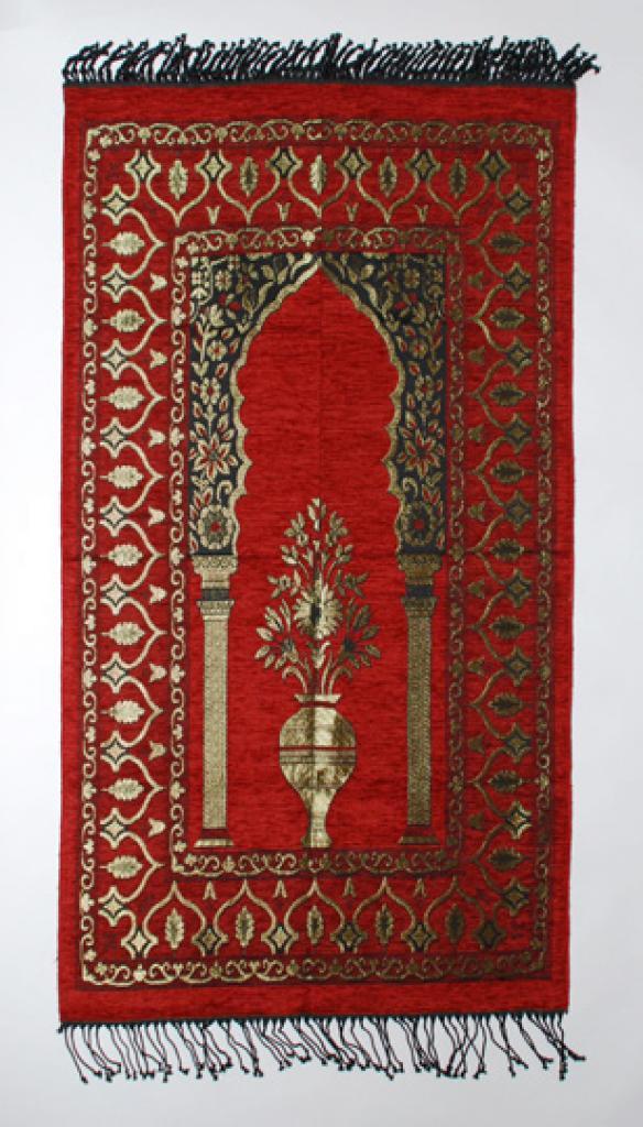 Golden Vase Prayer Mat ii810
