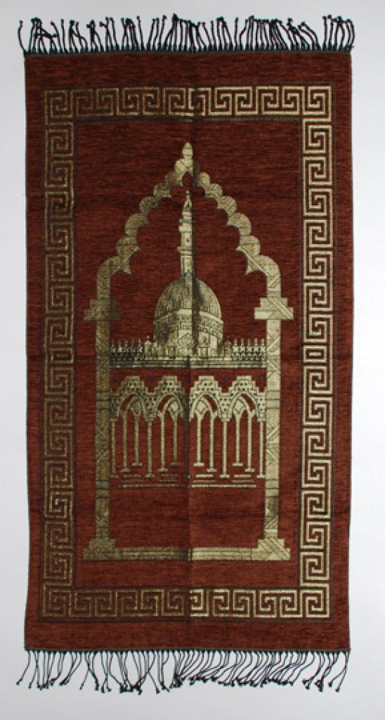 Masjid Golden Design Prayer Mat ii821