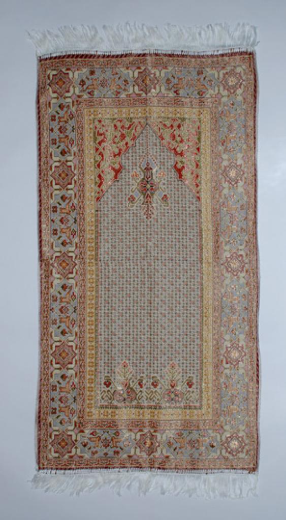 Woven Persian-style Pattern Prayer Rug ii832