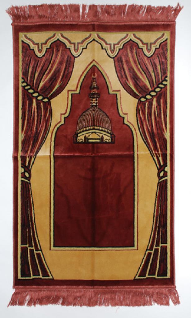 Draped Pattern Islamic Prayer Rug ii834