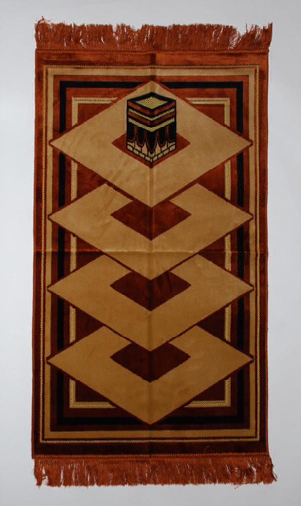 Diamonds Pattern Islamic Prayer Rug ii842