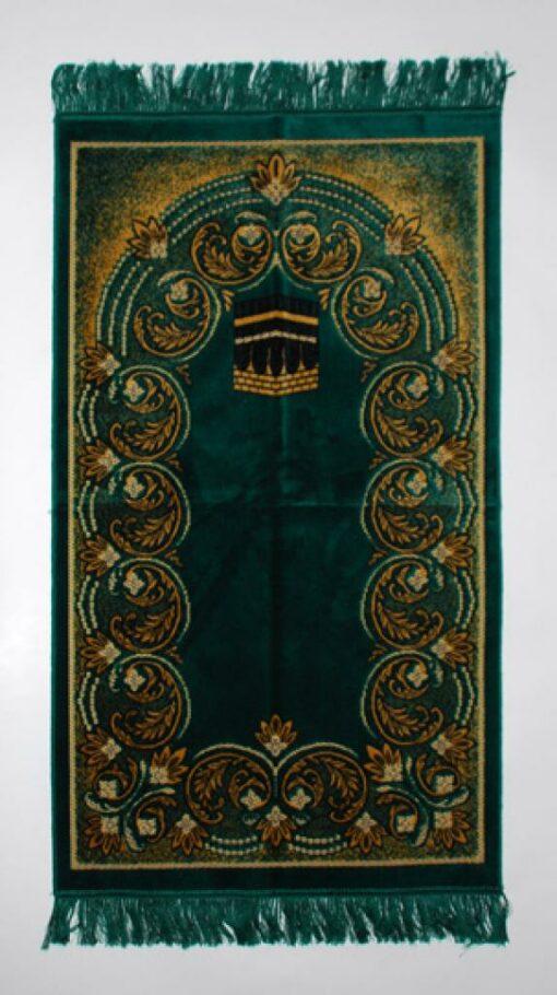Paisley Rings Pattern Islamic Prayer Rug ii846