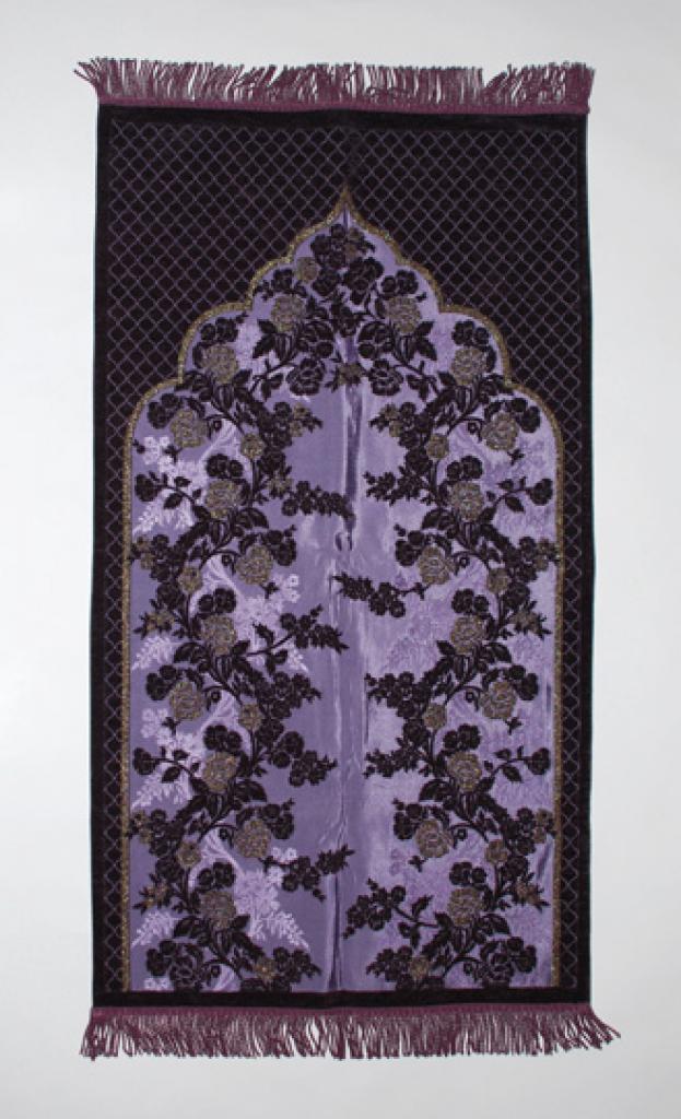 Superb Quality Woven Floral Prayer Rug   ii851