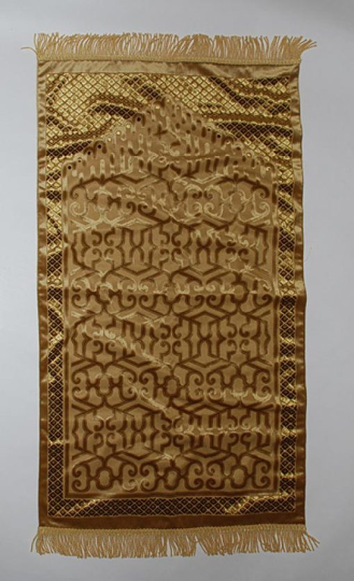 Superb Quality Woven Geometric Prayer Rug   ii854