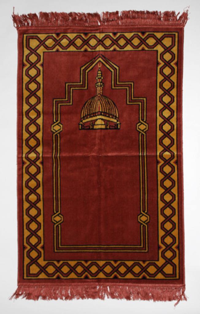 Diamond Pattern Islamic Prayer Rug ii858