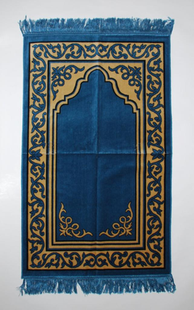 Scrolled Vines Border Prayer Rug ii859