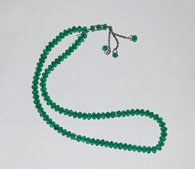 Cut Crystal 99 Bead Tasbih Prayer Beads  ii900