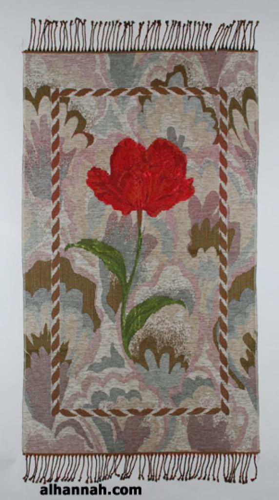 Woven Rose Pattern Prayer Mat ii923