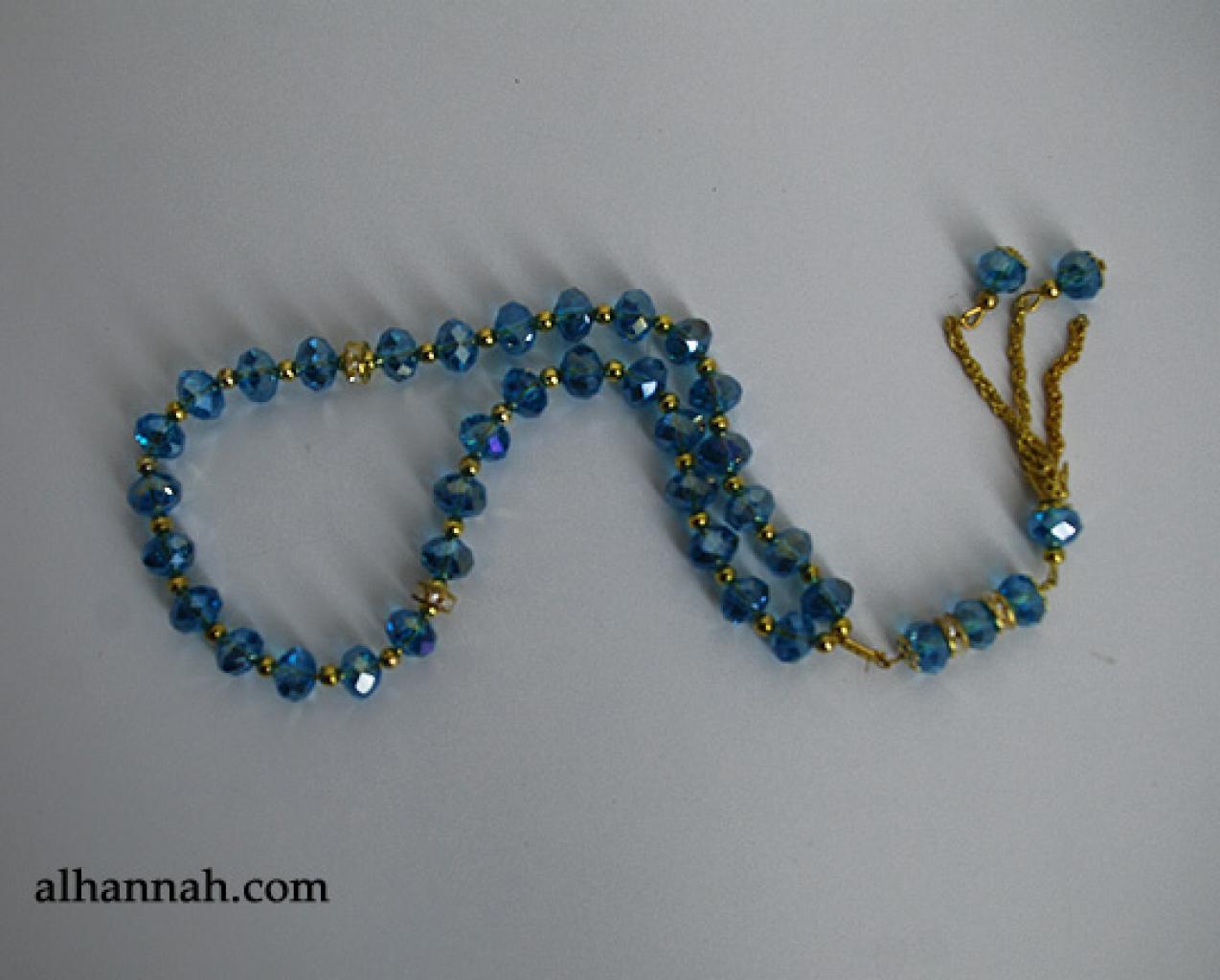 Premium Prismatic Cut-Crystal Prayer Beads ii960