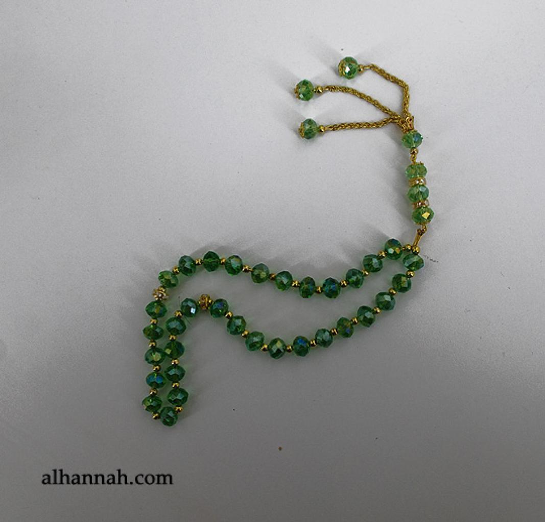 Premium Prismatic Cut-Crystal Prayer Beads ii964