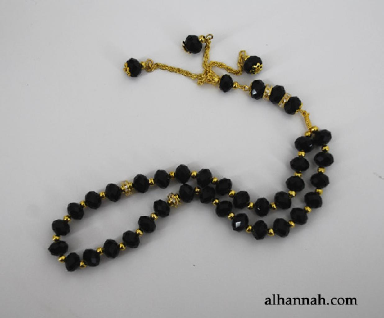 Premium Prismatic Cut-Crystal Prayer Beads  ii967
