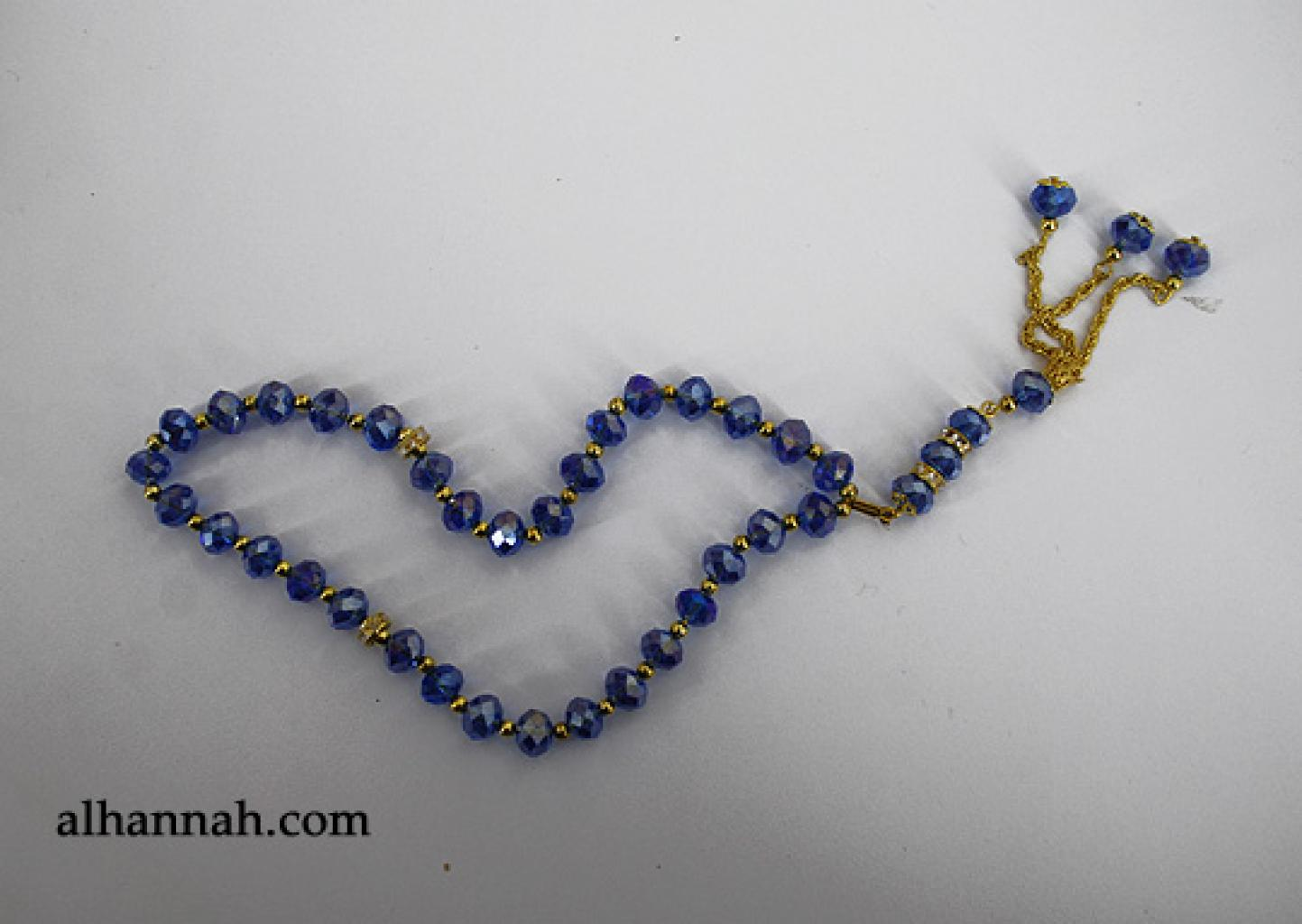 Premium Prismatic Cut-Crystal Prayer Beads  ii968