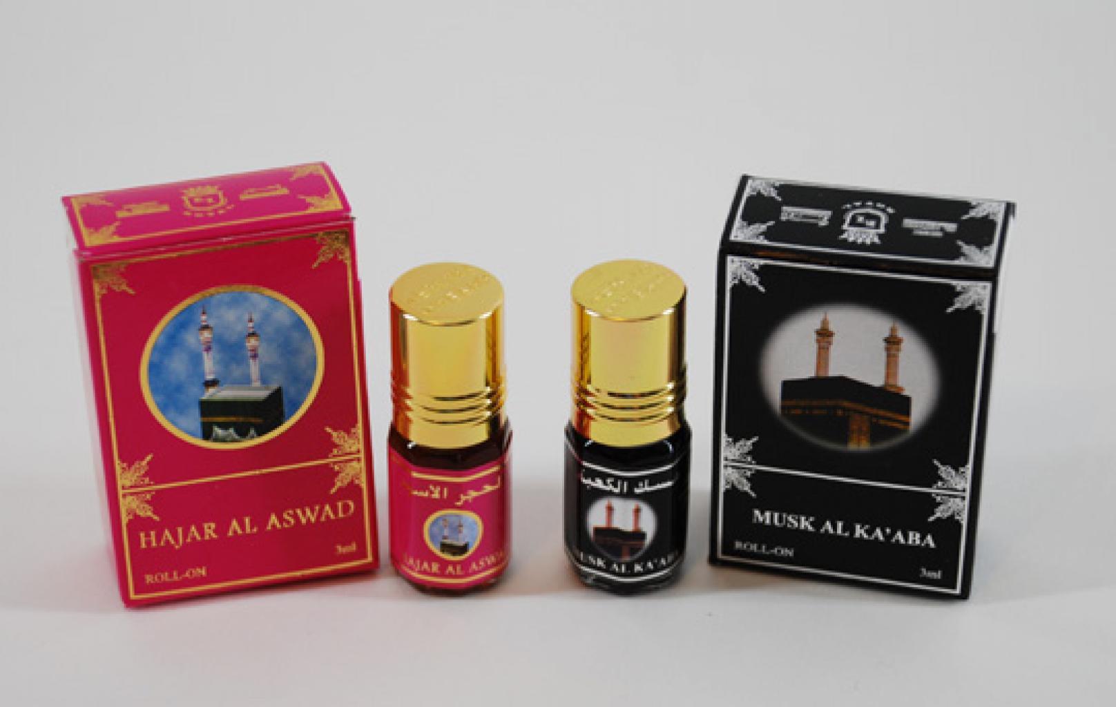Boxed Saudi Perfumed Oils   in246