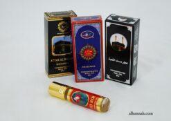 Premium Boxed Saudi roll-on perfume oils in291