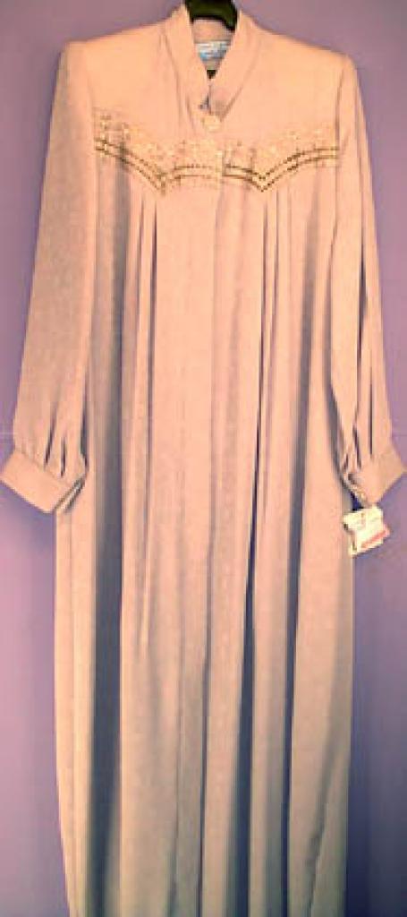 Classic Pleated Jilbab ji104