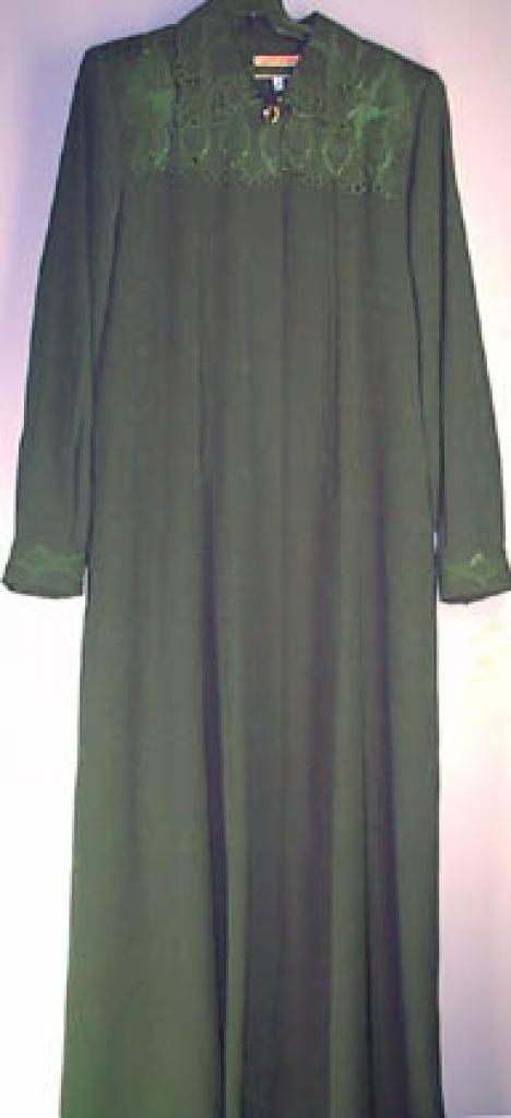 Classic Embroidered Jacquard jilbab ji118